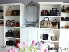 Purse Room - practicallyspoiled.com
