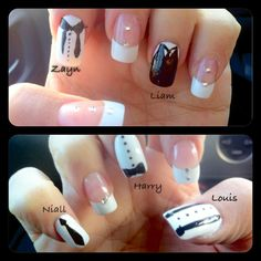The Best One Direction Nail Art