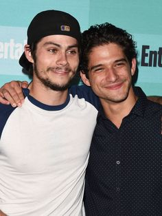 Tyler Posey & Dylan O'Brien's Bromance Reaches Epic Cuteness Levels at Comic-Con - Seventeen.com