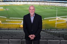 1968 Olympian, Allen Crawley at the MCG after his interview. Photo by Stefano Ferro. 1956 Olympics, Life Unexpected, World Famous, Olympians, Melbourne, Behind The Scenes, Champion, Interview, Film