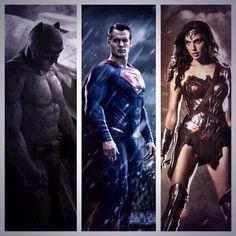 Batman V Superman #DCTrinity