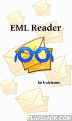 EML Reader FREE  Android App - playslack.com ,  ***********************IMPORTANT !!!!!If someting doesn't work as you expect, please send us an email and we'll fix it. Leaving just a bad review isn't useful to anybody.***********************IF YOU FIND THIS APP USEFUL, PLEASE CONSIDER PURCHASING THE AD-FREE VERSION. THIS WILL SUPPORT FURTHER DEVELOPMENT FOR THIS APPLICATIONThis nifty free utility parses and displays EML (mail message) files. Inline images are displayed both as attachments…