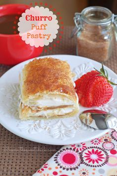 Churro Puff Pastry- OMG, my jaw dropped when I saw the name of this recipe, hope it lives up to the name!