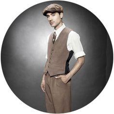 1940s Mens Vintage Waistcoat