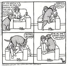 facebook/Off the leash dayly dog cartoon