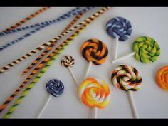 Charm Sized Candy Corn Tutorial, Polymer Clay Halloween Tutorial - YouTube