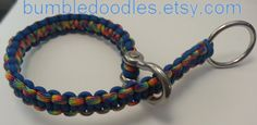 Adjustable Dog Collar Training Collar Paracord by Bumbledoodles, $25.00