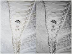 Photography & Design By Lauren- an on location photographer specializing in Weddings, Couples, High School Seniors, Families and Models based in Indiana 502.230.1907 | A July wedding at Southeast Christian Church + UofL Founders Union Building, Louisville KY - Ring shot in corset dress