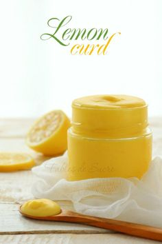 Lemon curd - crema al limone