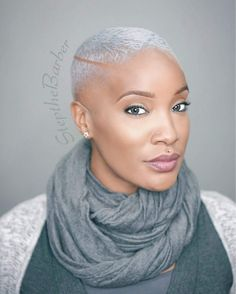 Stunning Natural Short Haircut Styles for Women 2019 Haircut Styles For Women, Short Haircut Styles, Short Grey Hair, Short Hair Cuts, Natural Hair Cuts, Natural Hair Styles, Afro Hairstyles, Black Women Hairstyles, Barbers Cut