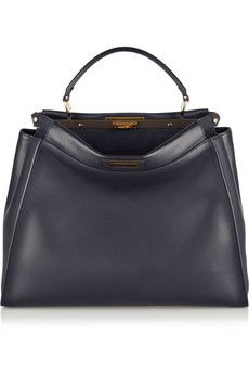 Fendi Peekaboo medium leather tote | NET-A-PORTER