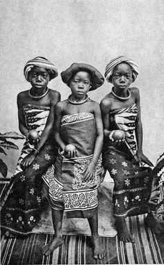 """Africa   """"Swahilli Totos"""" Dar-es-Salaam.  Post stamped 1924, Zanzibar    Vintage postcard; publisher M.S. Fernandes.  No 83."""