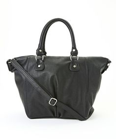This Black Tote is perfect! #zulilyfinds