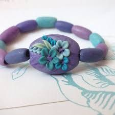 Image result for stretchy purple red bracelets designs