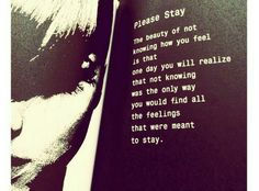 Please stay #quotes #frases