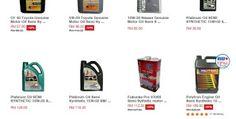 Senarai Semak Harga Minyak Enjin Semi Synthetic