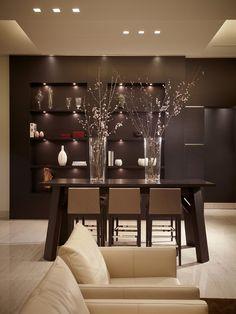 the lighting...Barry Grossman Photography, stunning dining room