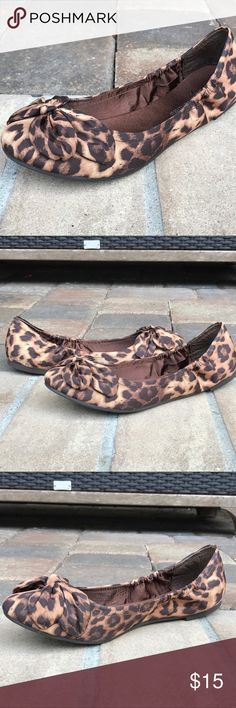Chinese Laundry Leopard Flats CL Ballet Flats, barely worn & look like new. Chinese Laundry Shoes Flats & Loafers