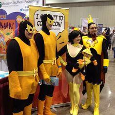 The #VentureBros made it to Planet Comicon!