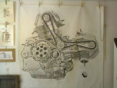 Ducati DesmoDue 750SS Work in progress