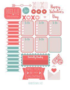 Valentine's weekly spread (4)