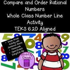 This engaging activity will have your students up and moving around the classroom while you facilitate the learning! Students will be assigned a rational number such as a percent, fraction, decimal or an integer. Teachers will provide students with a challenge in order