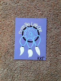 Big Little Sorority Craft- Kappa Kappa Gamma- Dream Big Little One by…