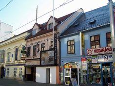 Bratislava, Slovakia  Home of my favorite restaurant...the Slovak Pub