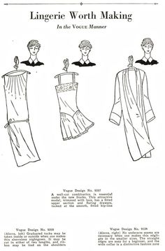 inspiration - what-i-found: Vogue Book of Practical Dressmaking - 1928 Part 2