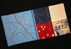 A nice combination of free motion quilting and decorative stitches