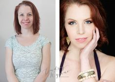 beauty couture session, lindsay wynne photography, beauty portrait charlotte nc, kristin jann, before and after portrait, beauty asylum