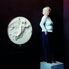 The Day - Grethe Dahl, museum attendant Psych, Eagle, Museum, Statue, Photography, Painting, Art, Sculpture, Eagles