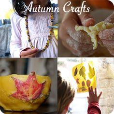 Tons of Autumn Crafts!