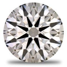 1.11ct Round I/VVS2 NUMINED diamond