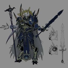Magus (Chaos Sorcerer) and Zealots - Chaos PC armor, some sketches and Warlord Tchar'Zanek the destruction boss - Scroll! Servants of the chaos god Tzeentch: http://wh40k.lexicanum.com/wiki/Tzeentch  WARHAMMER ONLINE: Age of Reckoning  http://en.wikipedia.org/wiki/Warhammer_Online:_Age_of_Reckoning  Warhammer Online Cinematic Trailer https://vimeo.com/57342899  Printer Paper and Photoshop  © Games Workshop Limited