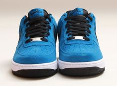 the latest f2e1c a356d nike air force 1 low military blue black white 02 570x425 Nike Air Force 1  Low
