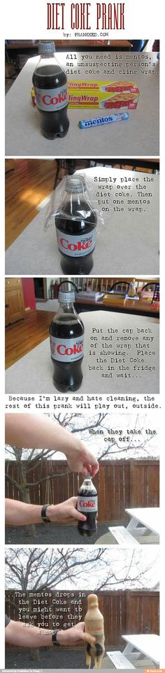 Diet Coke Prank