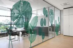 Glass Sticker Design, Glass Wall Design, Door Design, Window Design, Office Interior Design, Home Office Decor, Office Interiors, Interior Decorating, Office Signage
