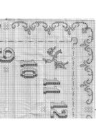 Gallery.ru / Фото #40 - 3 - Chispitas Alexander Mcqueen Scarf, Counted Cross Stitches, Journals