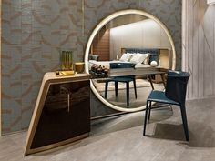 wooden dressing table designs for modern bedroom furniture sets 2019 New Furniture, Bedroom Furniture, Furniture Design, Wall Mounted Dressing Table, Dressing Table Vanity, Home Bedroom, Bedroom Decor, Bedroom Mirrors, Modern Bedroom