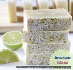 homemade kratom soap
