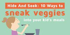 sneak veggies into meals