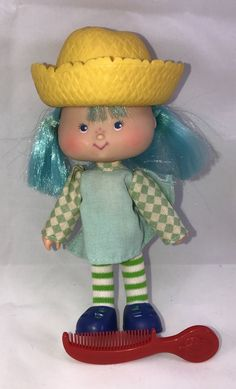 Vintage 1979 Kenner American Greetings Blueberry Muffin Collectible Doll    eBay