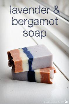 Cold Process - Lavender & Bergamot Soap Recipe
