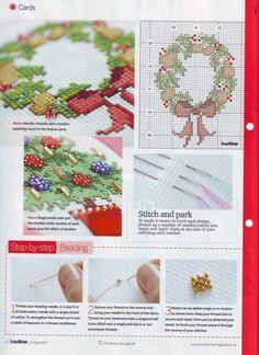 Christmas Festive Sparkle Cards 2/3
