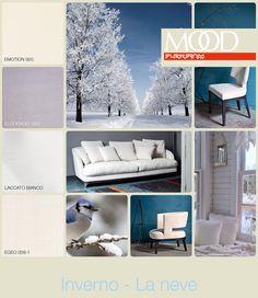 FLEXFORM MOOD   WINTER - SNOW #INSPIRATION #colour #materials