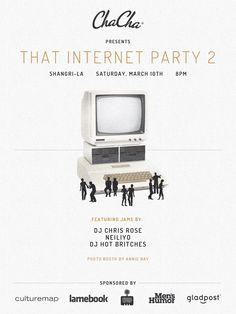 That Internet Party 2 / Sat March 10