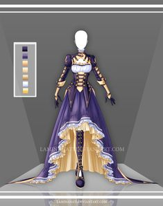Adoptable Outfit Auction 56(open) by LaminaNati.deviantart.com on @DeviantArt