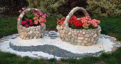 21 Inspirationen für Steindekorationen für den Garten