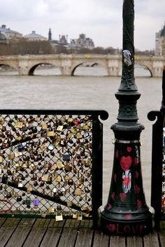 Paris Love Padlocks